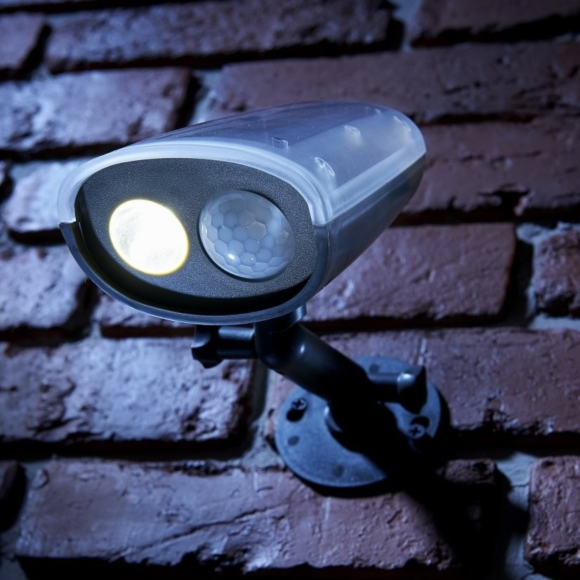 Auraglow Pir Motion Sensor Wireless Outdoor Security Wall