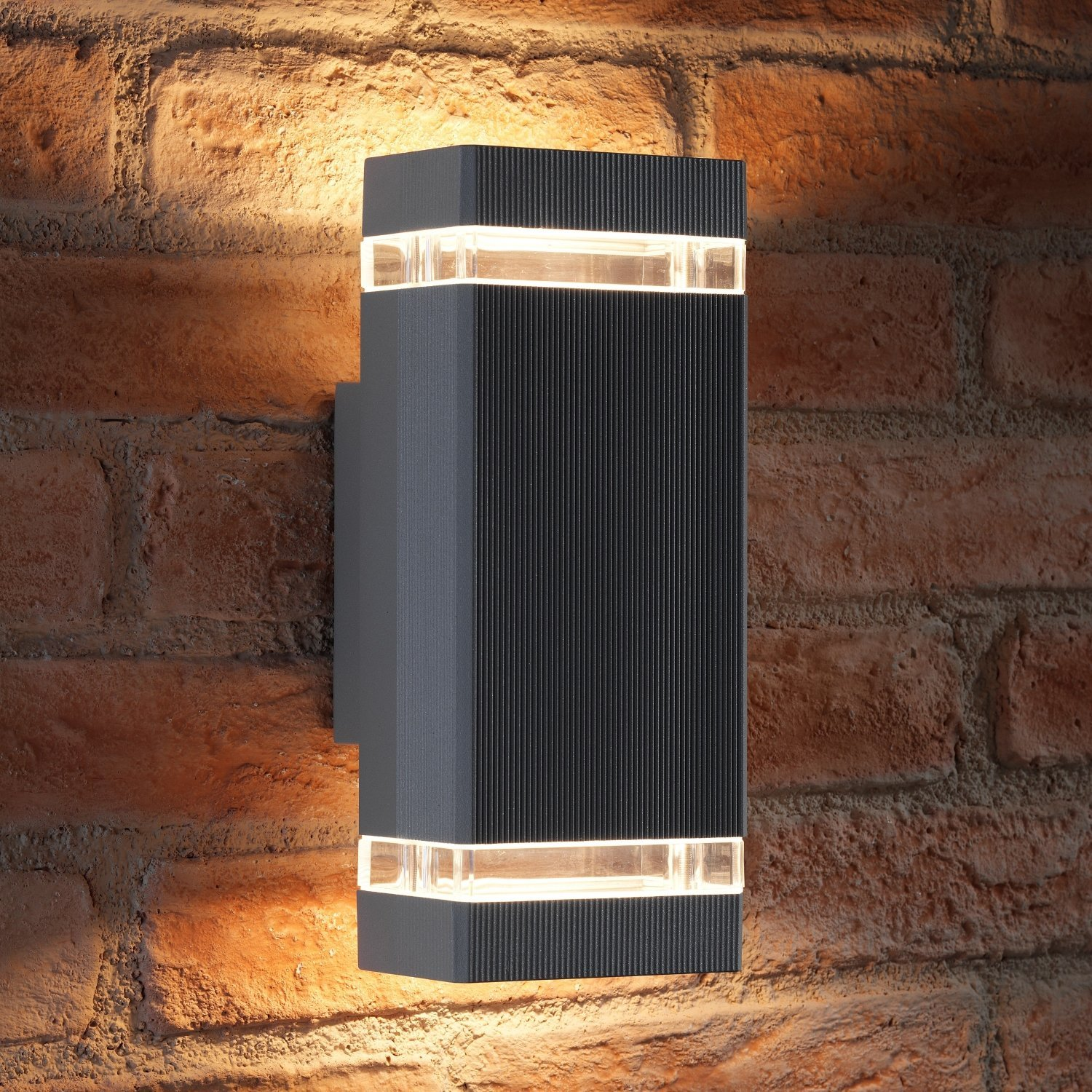 Auraglow Large Outdoor Double Up Amp Down Wall Light