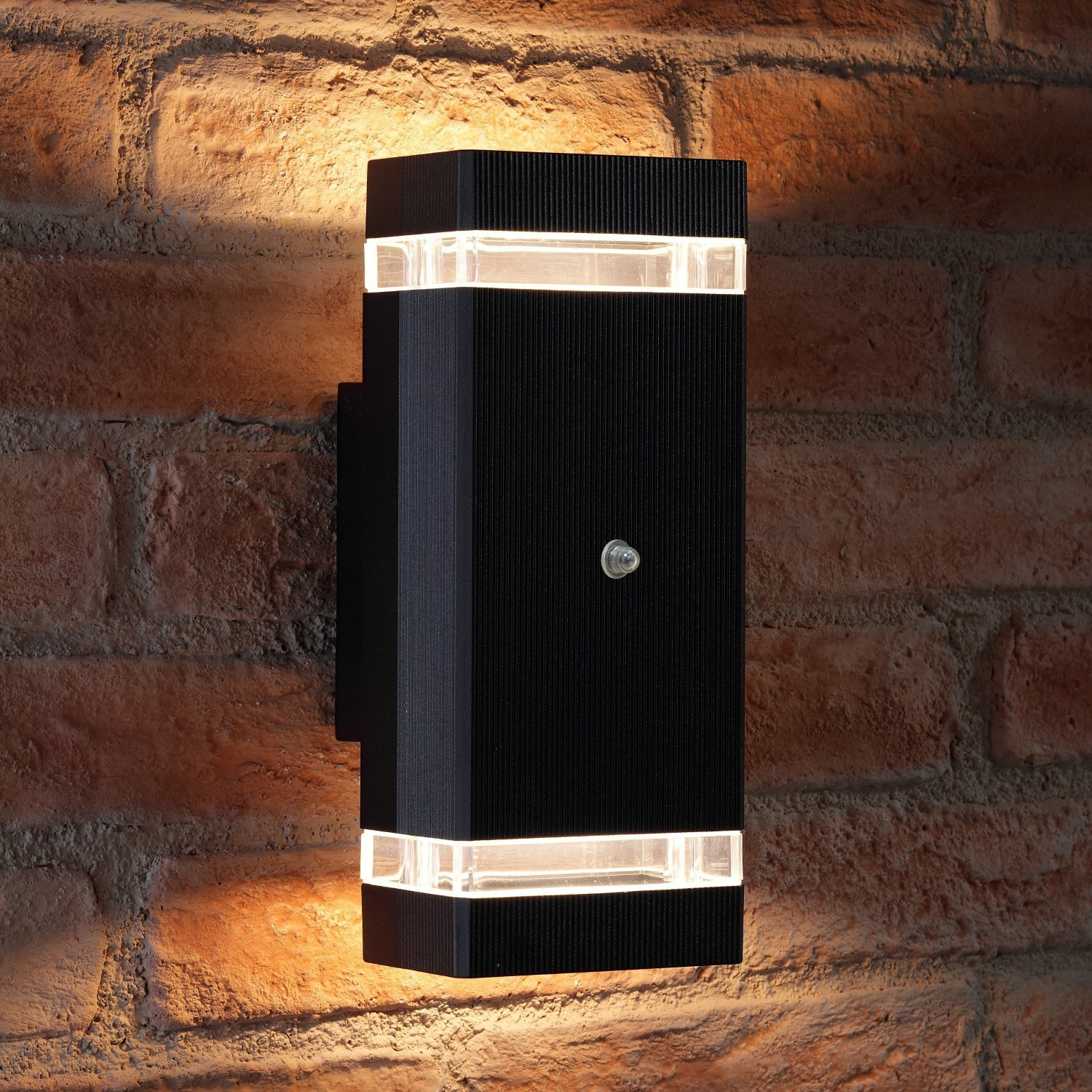 Auraglow Dusk Till Dawn Sensor Double Up Amp Down Wall Light