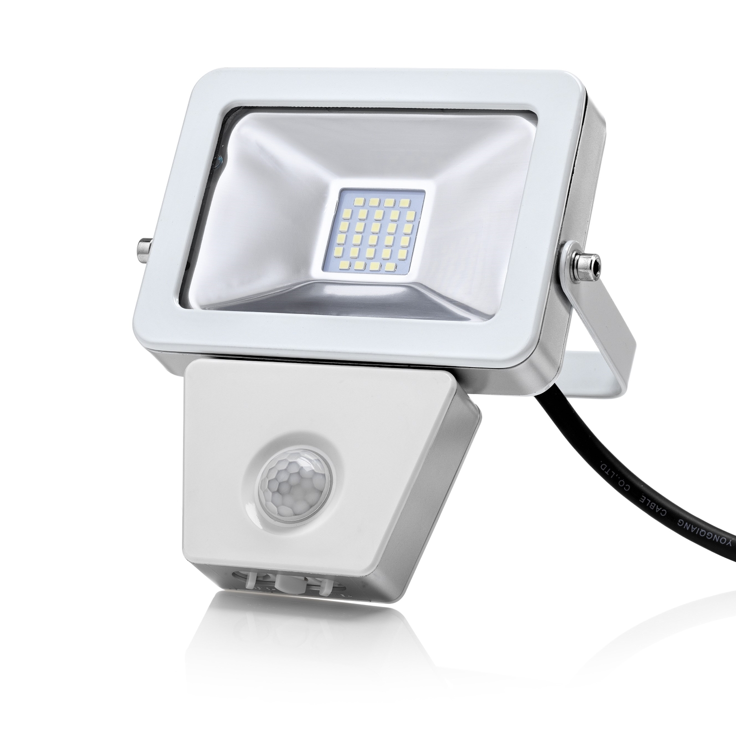 Auraglow 10w Led Motion Activated Pir Sensor Outdoor Security Light 150w Eqv Ebay