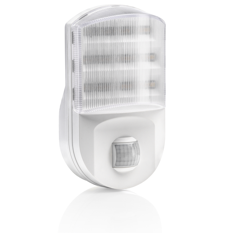 Auraglow Plugin Enchufe De Pasillo Sensor De Movimiento Pir Led Luz De Noche Ebay