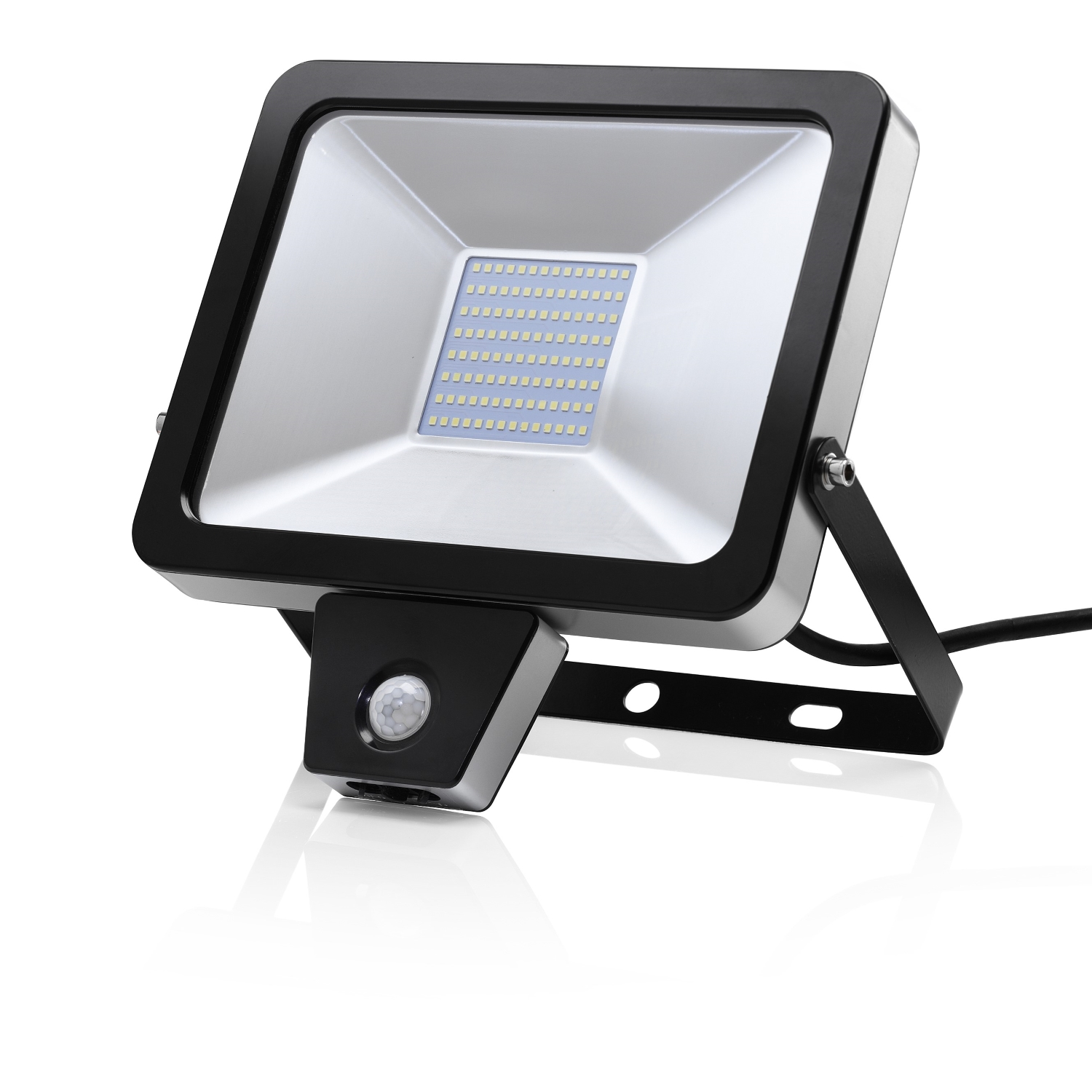 Outdoor Security Lights Pir: AURAGLOW 50W LED MOTION ACTIVATED PIR SENSOR OUTDOOR