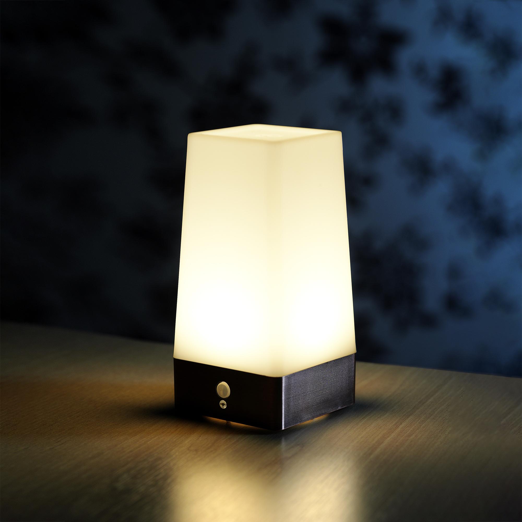 Auraglow Wireless PIR Motion Sensor Lamp Battery Hallway ...