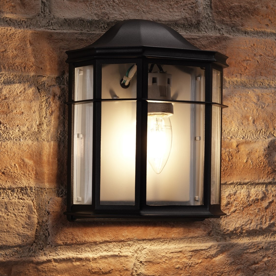 Appleton Light Vintage Industrial: Auraglow Vintage Outdoor Wall Light