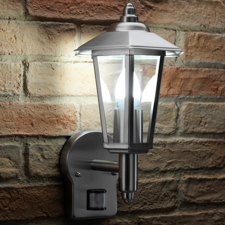 Auraglow-Stainless-Steel-PIR-Infrared-Motion-Sensor-Outdoor-Vintage-Wall-Light