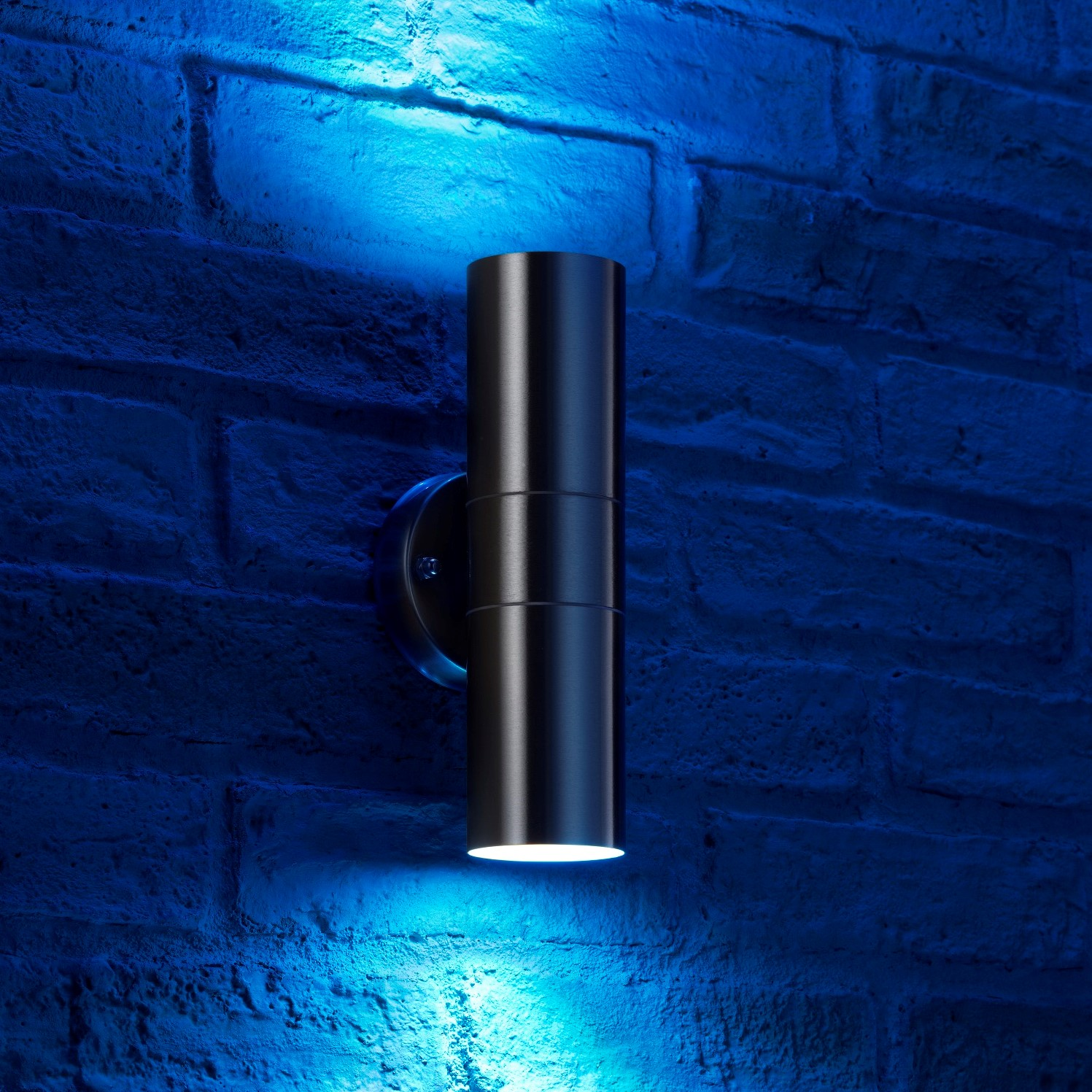 Auraglow Stainless Steel Up Amp Down Colour Changing Outdoor