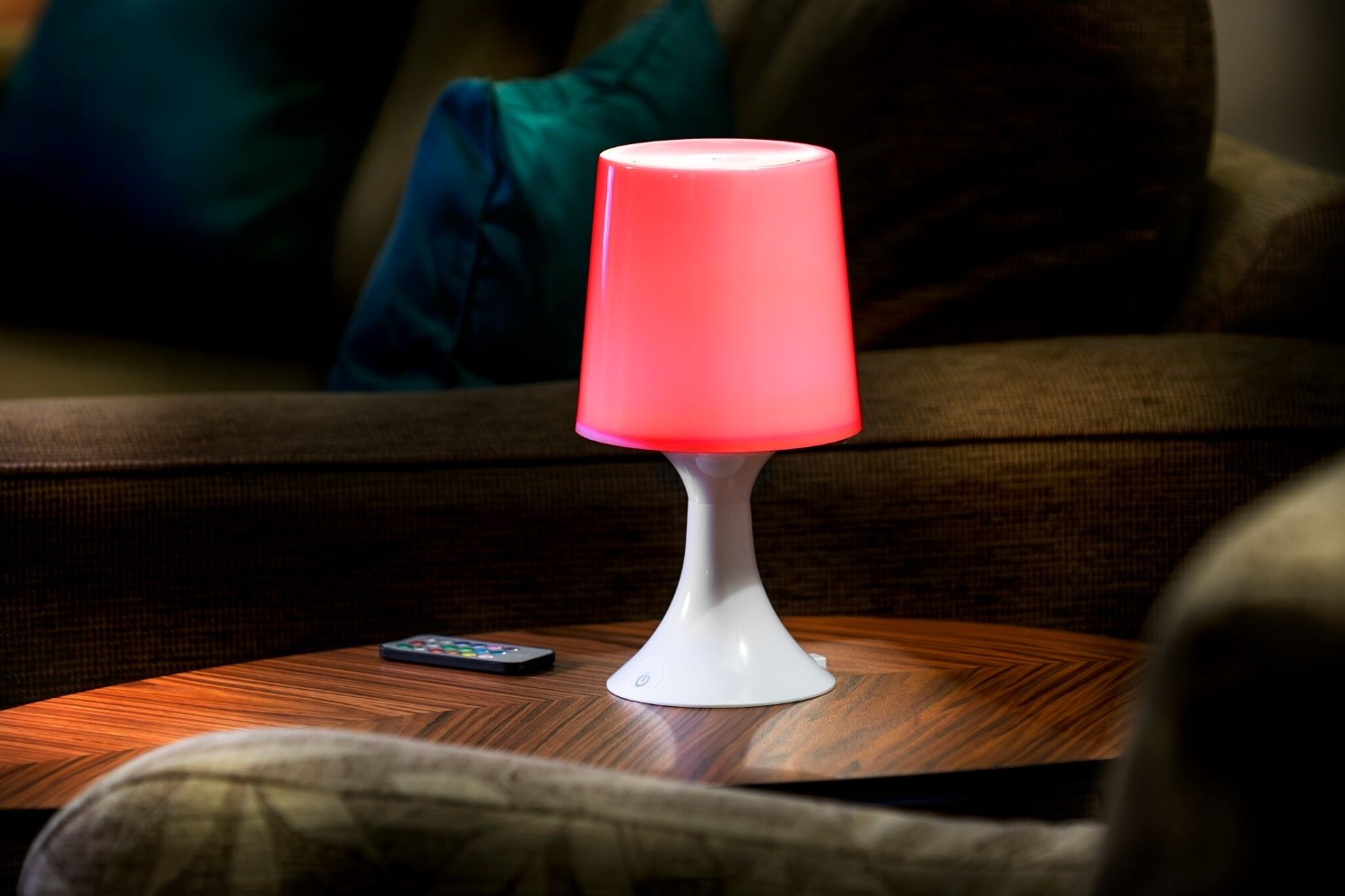 Colour Changing Led Table Lamp With Remote Control