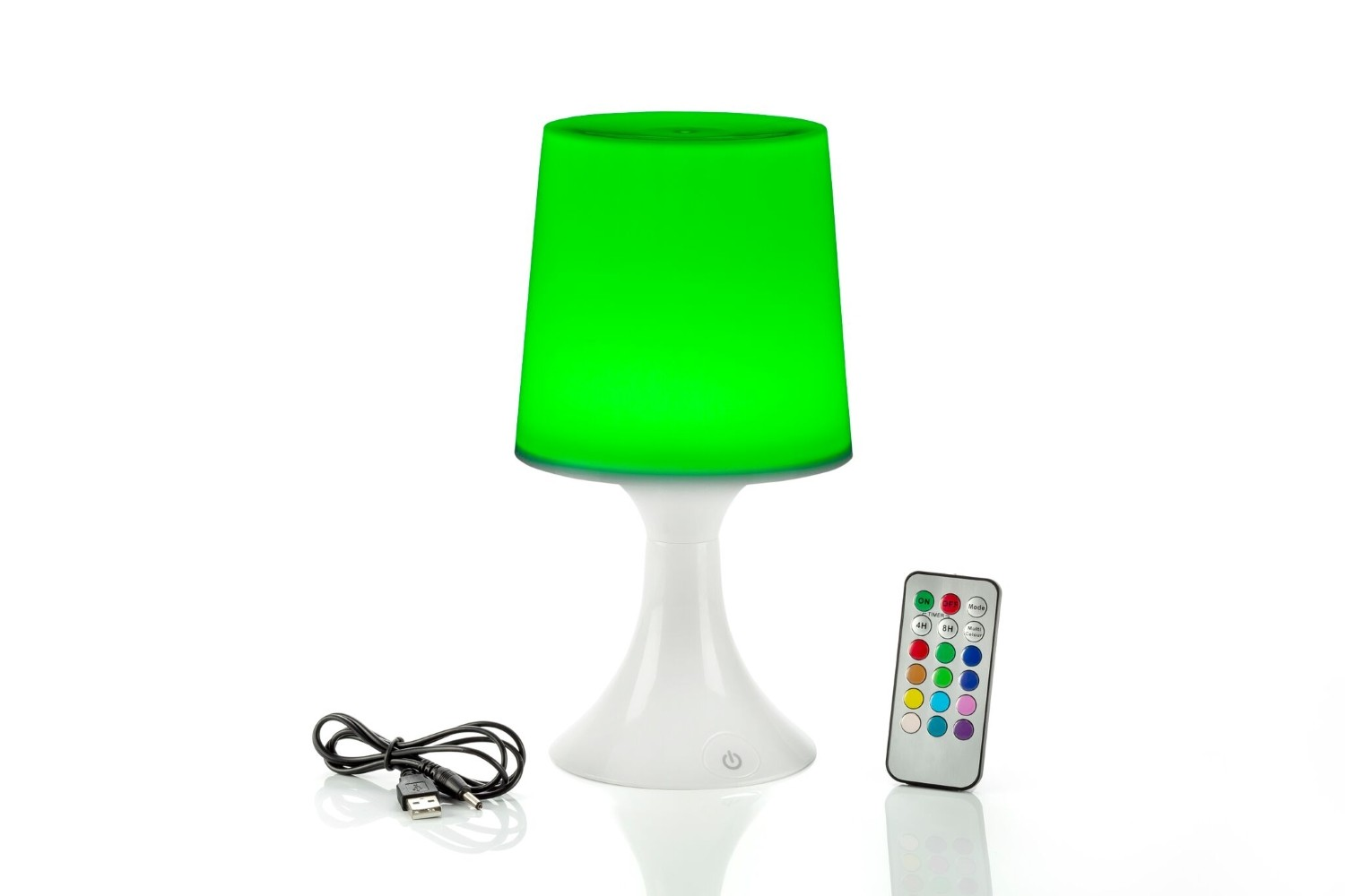 Colour Changing Led Table Lamp With Remote Control Auraglow Led