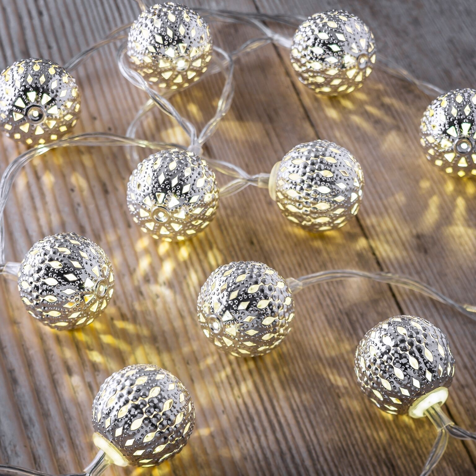 Set of 12 battery operated 25m indoor string lights mini maroq set of 12 battery operated 25m indoor string lights mini maroq balls mozeypictures Choice Image
