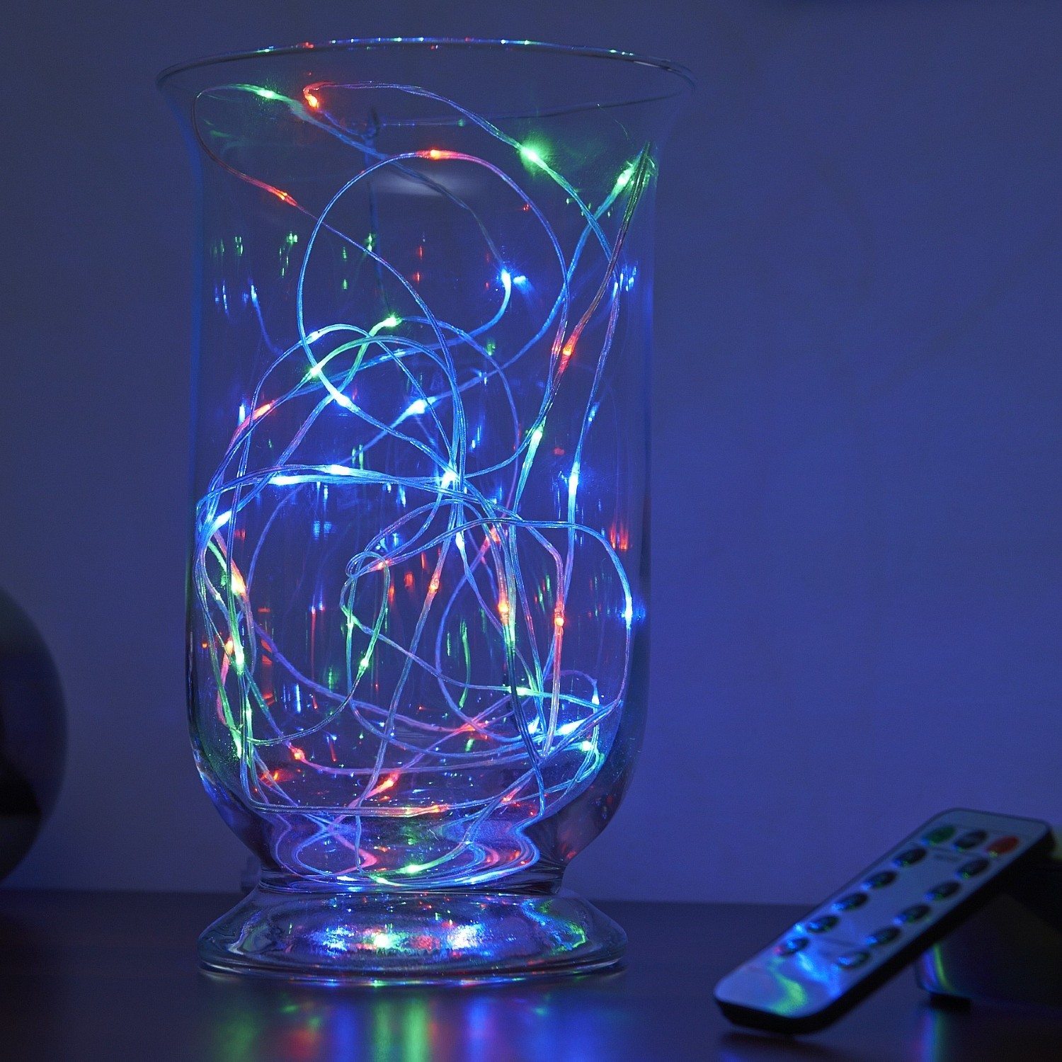 Micro Led String Lights Battery Operated Remote