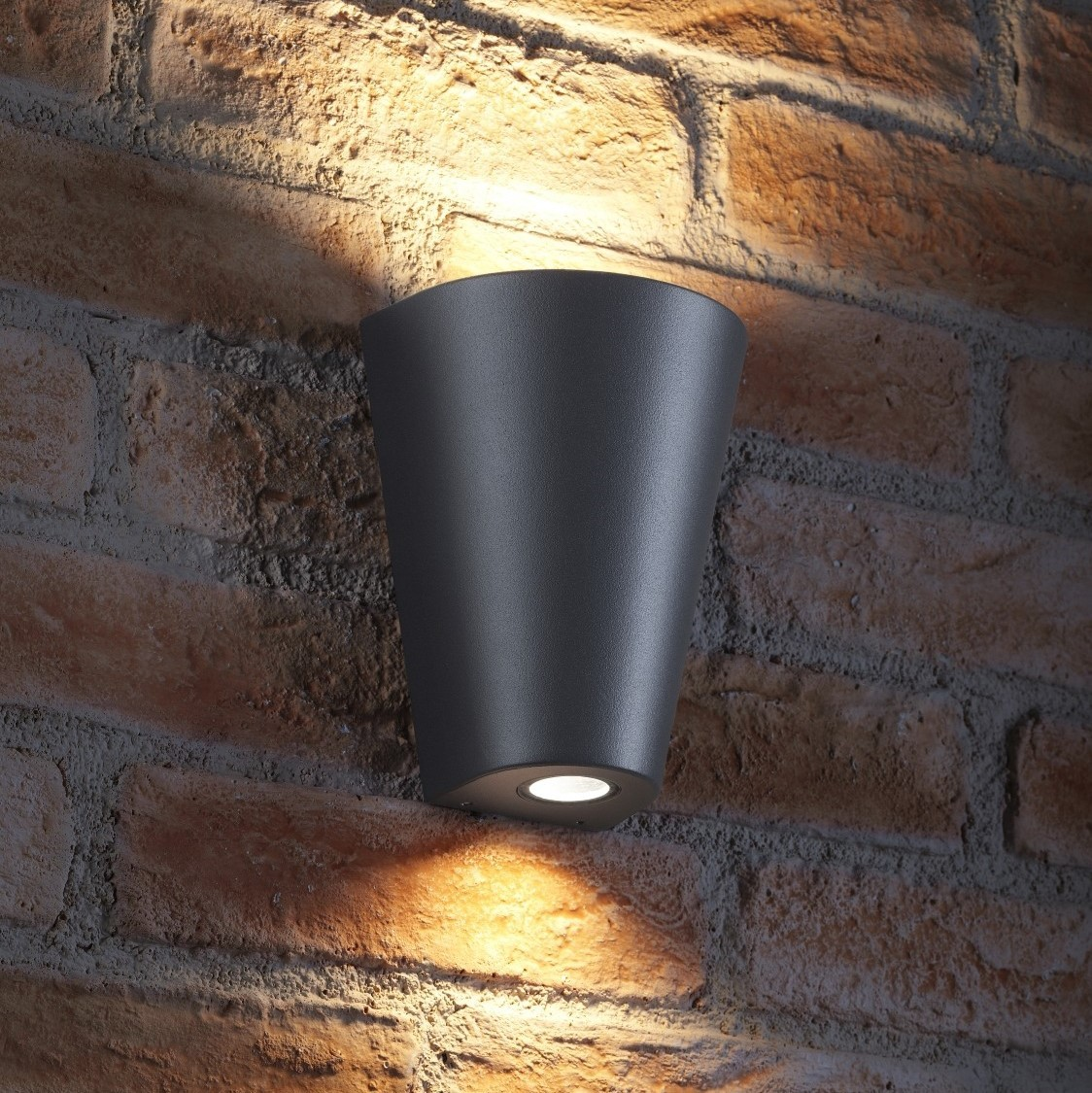 Auraglow 14w Outdoor Double Up Amp Down Wall Light