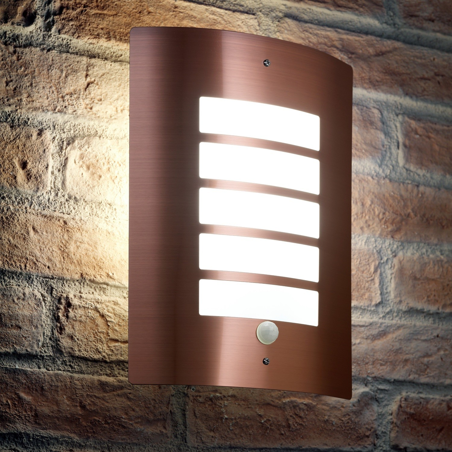 Auraglow Pir Motion Sensor Outdoor Security Wall Light