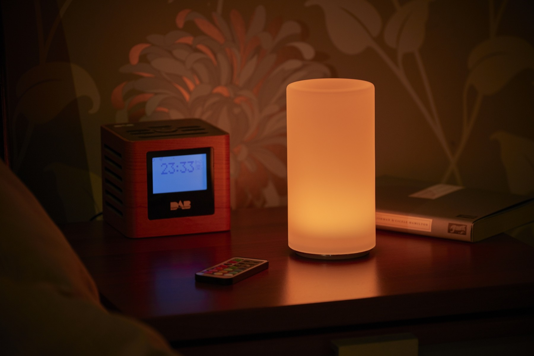 Auraglow Rechargeable Cordless Colour Changing Led Table