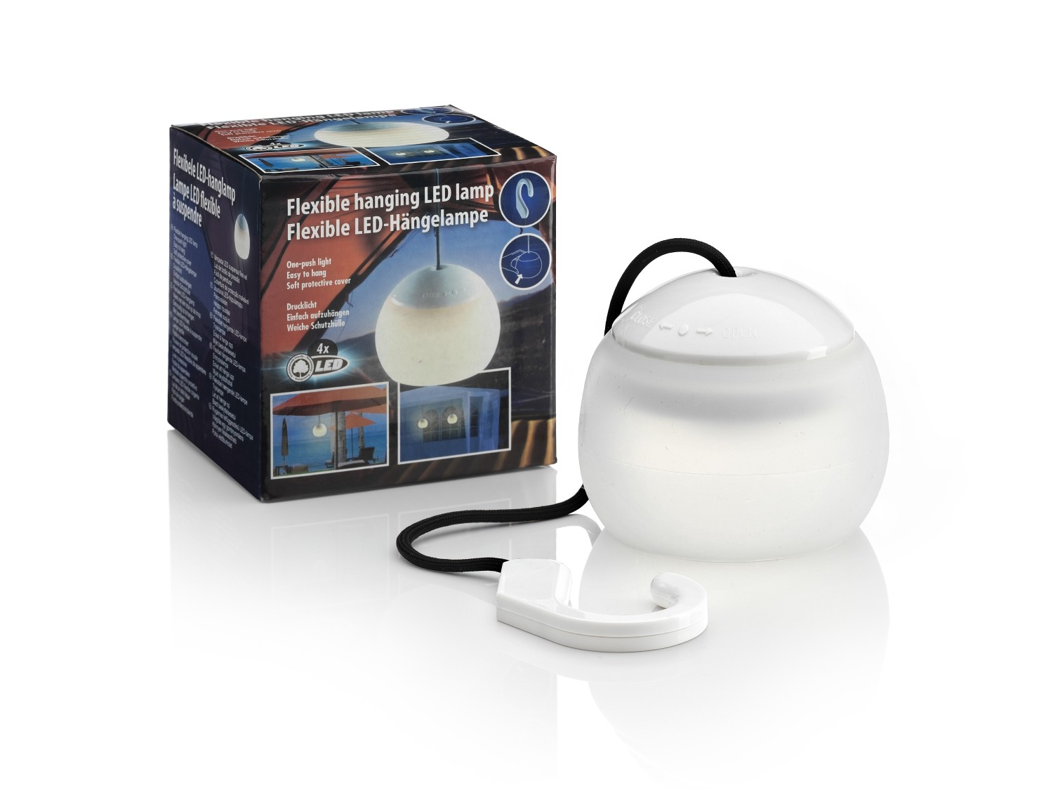 Battery Operated Hanging Garden Gazebo Light Auraglow