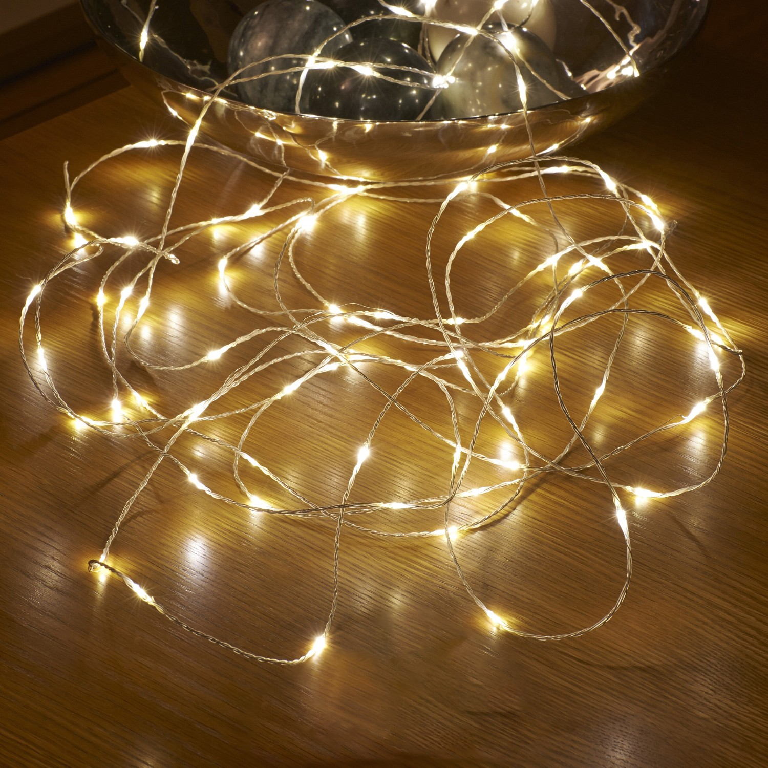 String Lights For Outside : Micro LED String Lights - Battery Operated - Remote Controlled - Outdoor - 5M - Auraglow LED ...