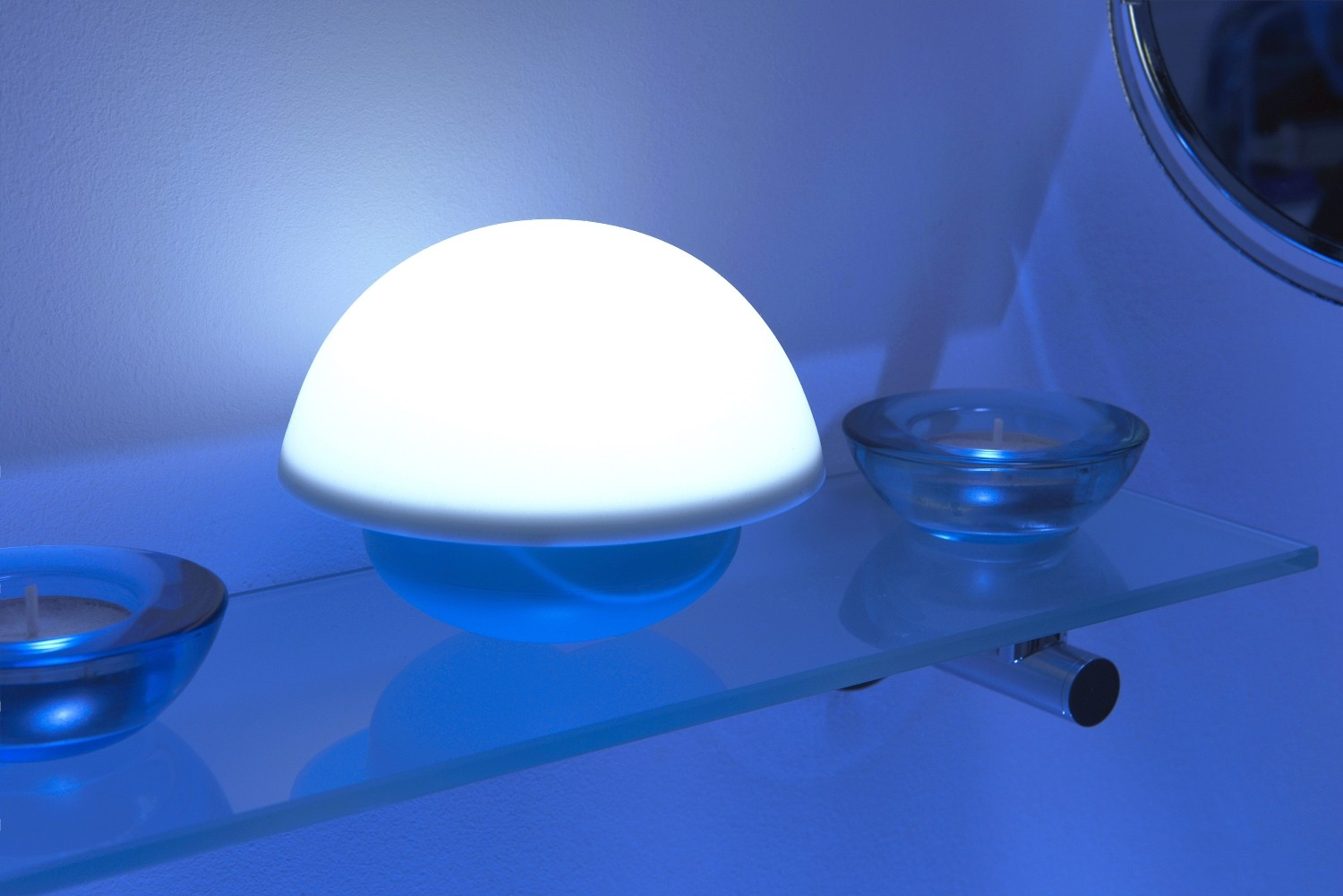 Colour Changing Led Desktop Touch Lamp Auraglow Led Lighting