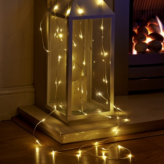 Micro Led String Lights Battery Operated 2 3m Auraglow Led Lighting
