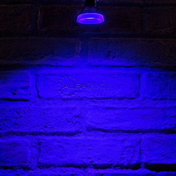 Auraglow Led Coloured Gu10 Blue Auraglow Led Lighting