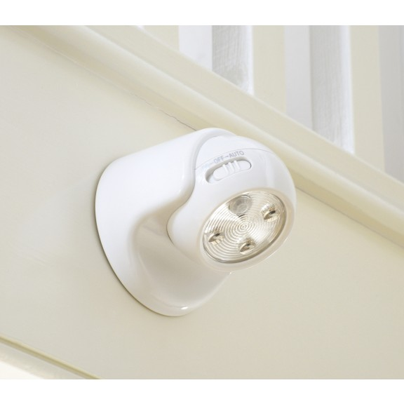 Auraglow Battery Operated Motion Activated Pir Sensor