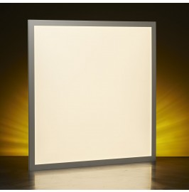 Auraglow 40w LED Square 595 x 595mm (600 x 600mm) Ceiling Panel Light - Warm White (4000K)