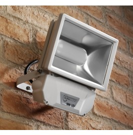 Auraglow 50w Low Energy LED Flood Light Outdoor Garden Wall Security Lamp - 250w EQV - White