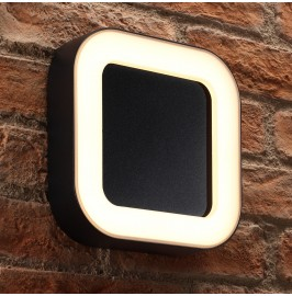 Auraglow 12w Integrated LED Outdoor IP54 Up & Down Wall Light - HARPENDEN