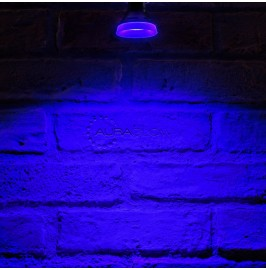 Auraglow LED Coloured GU10 Spotlight Light Bulb - BLUE
