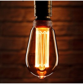 Auraglow Mysa Vintage Filament ST64 Classic LED Light Bulb - E27