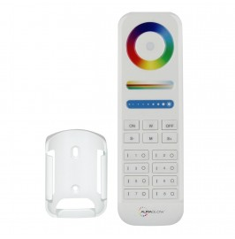 Auraglow 8-Zone 2.4GHz RF Remote Control – Colour, Brightness and Temperature Control