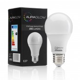 AURAGLOW 9w LED E27 Cool White - 60w EQV.1