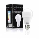 AURAGLOW 12w LED E27 Screw Light Bulb, Warm White, 75w Equivalent.1