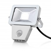 Auraglow 10W LED Motion Activated PIR Sensor Outdoor Security Light - 150w EQV