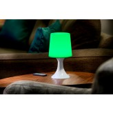 Auraglow Remote Control Colour Changing LED Mood Light Wireless Battery Operated Bedside Table Desk Lamp.1