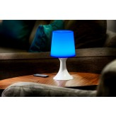 Auraglow Remote Control Colour Changing LED Mood Light Wireless Battery Operated Bedside Table Desk Lamp.8