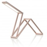 Auraglow rechargeable folding desk lamp 1