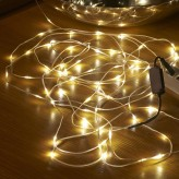 Auraglow Indoor / Outdoor Waterproof Micro LED USB Christmas String Lights