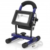 Auraglow Super Bright 10w LED Rechargeable Wireless Portable Work Light 100w EQV - Blue