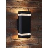 Auraglow Remote Control Colour Changing Up & Down Wall Light - Dorchester