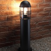 Auraglow Weather Resistant Outdoor Garden Path Bollard Traditional Post Light - 5w Warm White LED Light Bulb Included