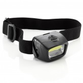 Auraglow Battery Operated Adjustable LED Headlamp Flash Torch Dog Walking Head Light