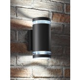 Auraglow Double Up & Down Wide Pillar Wall Light - ASTRA