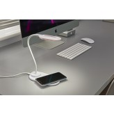 Auraglow Flexible Lamp with 10W Qi Wireless Fast Charger