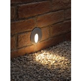 Auraglow Integrated LED Inset Recessed Marker Light – Round