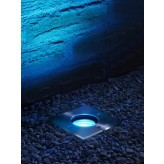 Auraglow Remote Control Colour Changing Outdoor Deck Light - Square