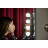 Auraglow Rechargeable LED Hollywood Vanity Mirror Light