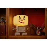 RoboGlow - The Sound & Voice Activated Wireless Children's Night Light with Creative Stickers 3