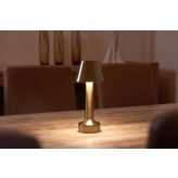Auraglow Remote Controlled Rechargeable LED Table Lamp - SAVOY