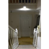 Auraglow Battery Operated Motion Activated PIR Sensor Cordless Security Light.5