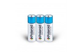 Size AA Polaroid Alkaline Batteries - Pack of 3