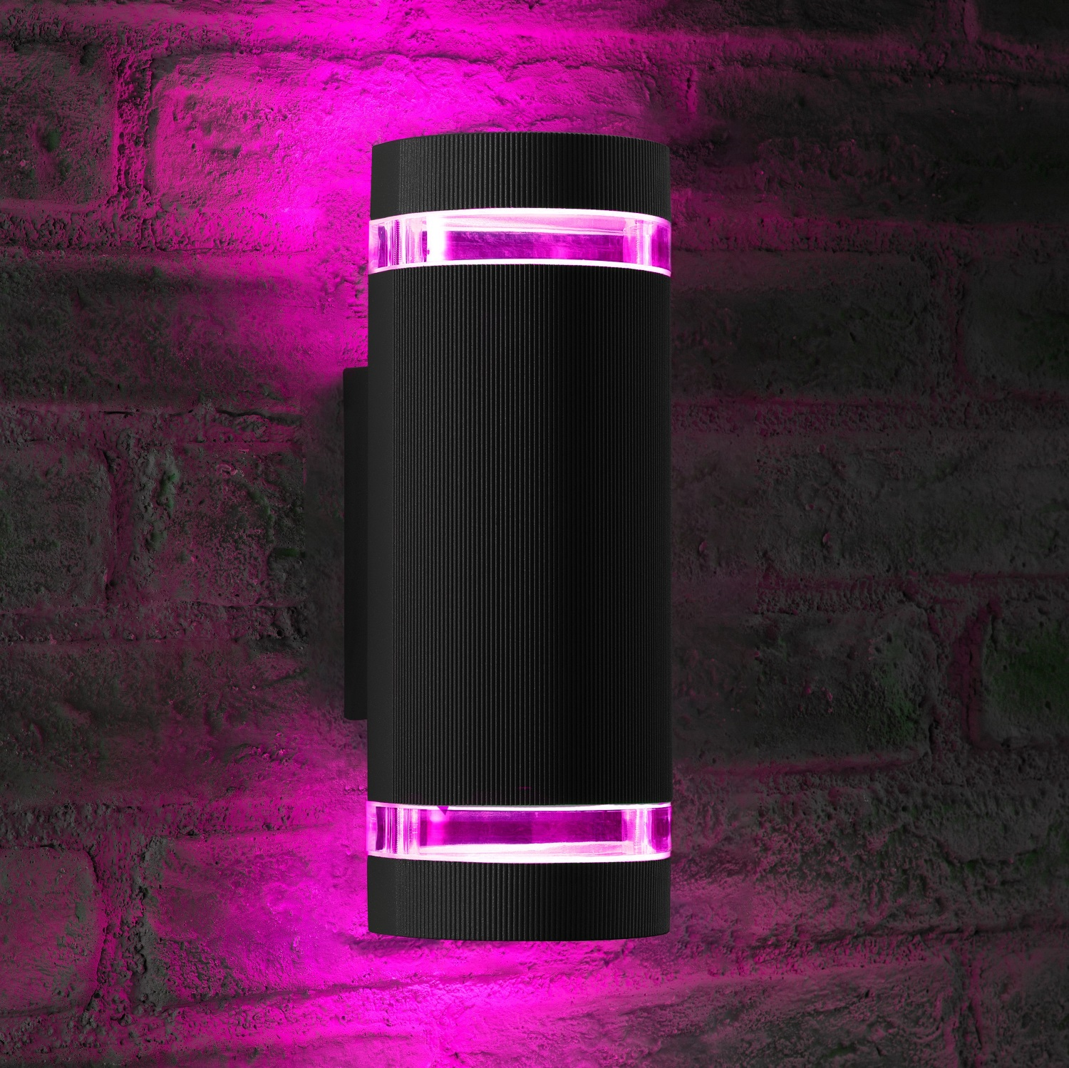 Auraglow Remote Control Colour Changing Up Amp Down Wall Light Queensbury Auraglow Led Lighting